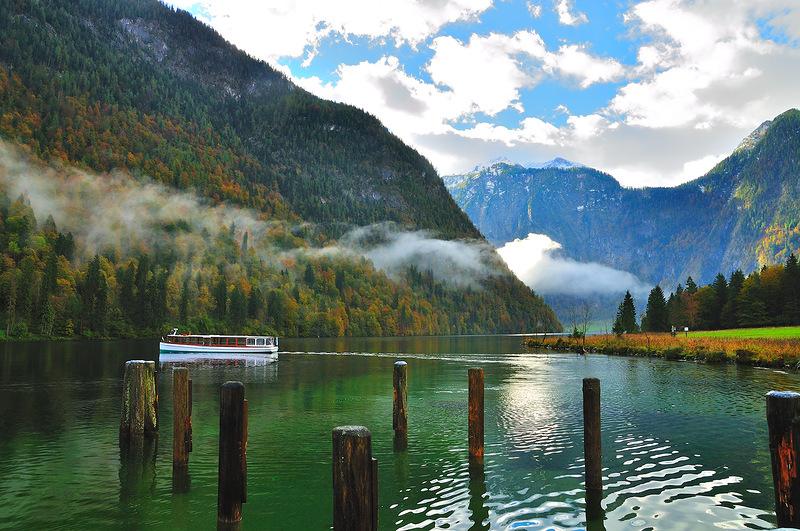 Кёнигсзее - озеро в баварских Альпах