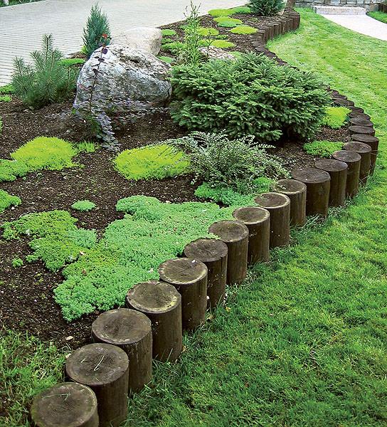 Бордюры в садах и ландшафтном дизайне