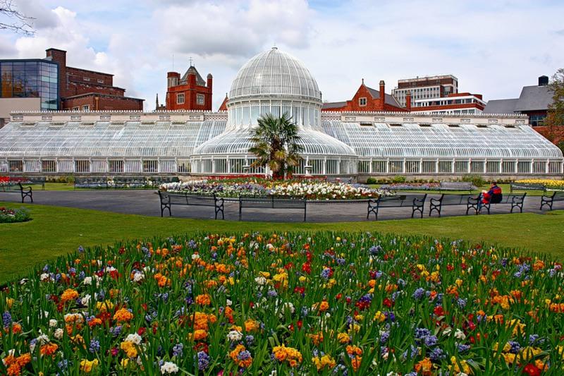 Ботанический сад Белфаста в Северной Ирландии
