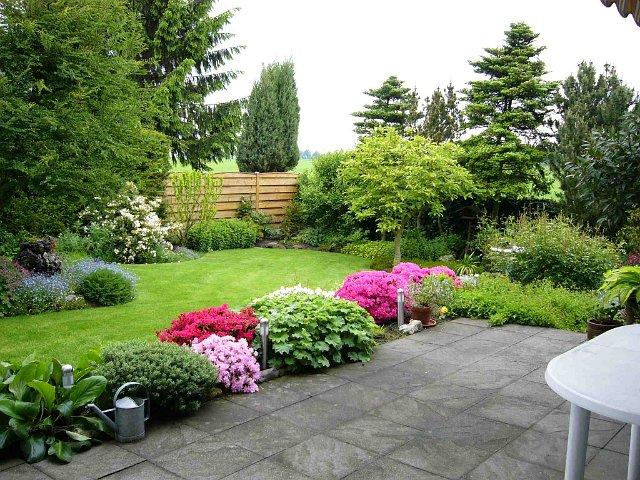 Партерные декоративные газоны