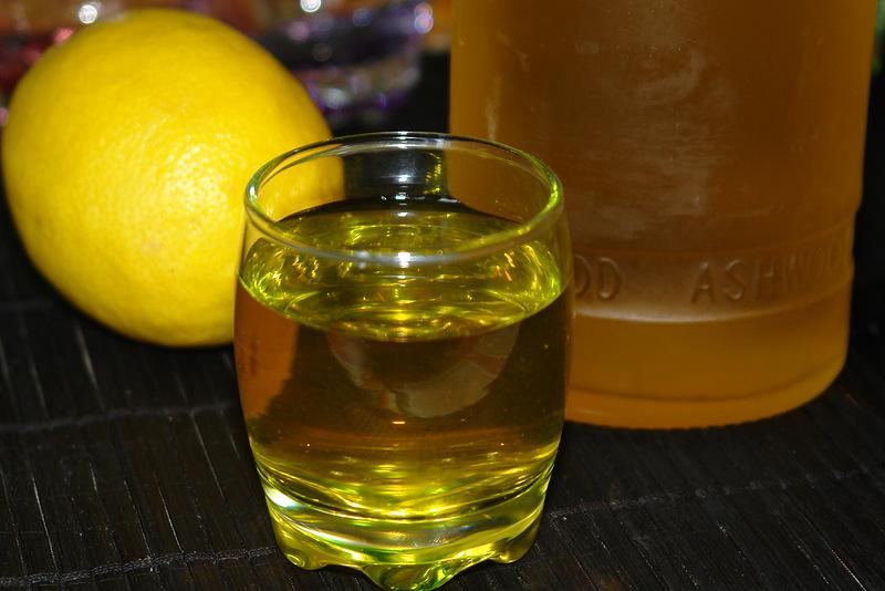 Настойка. Лимонный спотыкач