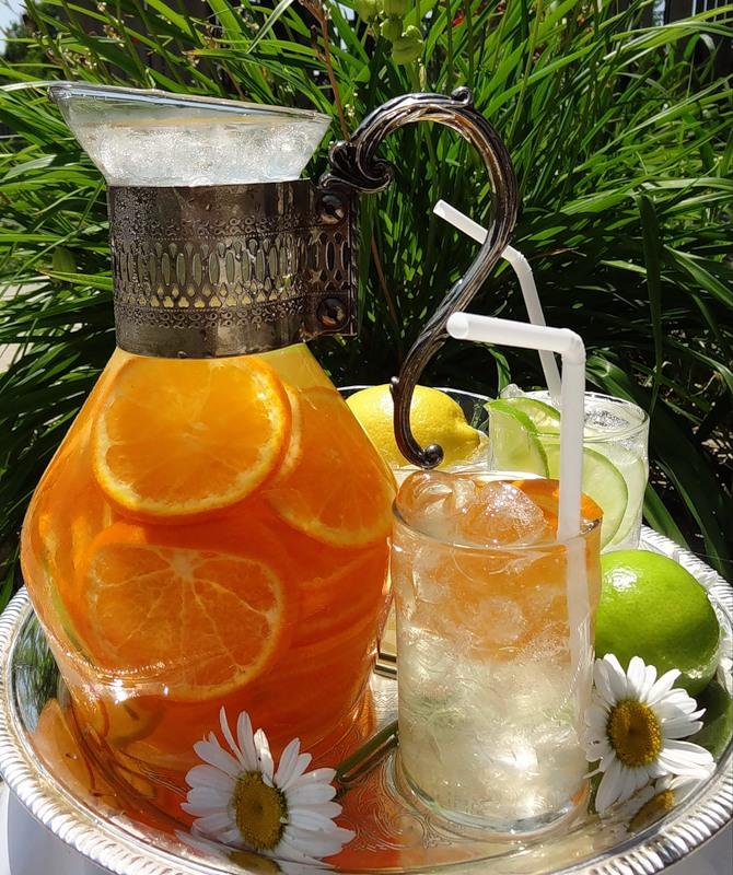 Прохладительные напитки и домашние лимонады