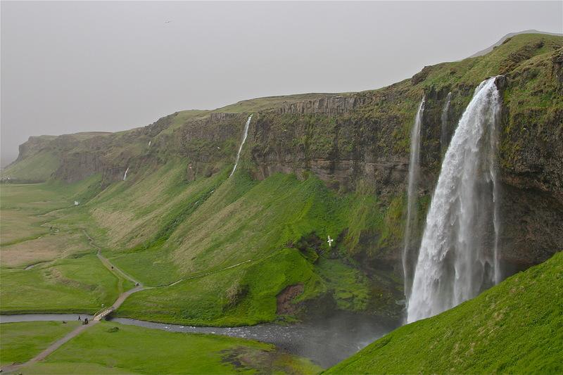 Самые красивые водопады мира (Топ 10). Исландия