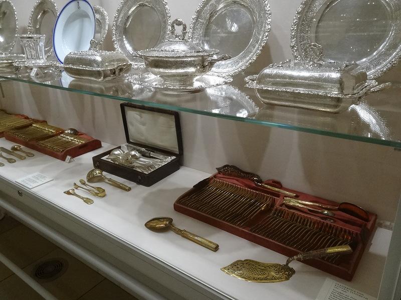 Музей Сисси. Посуда императорской четы.