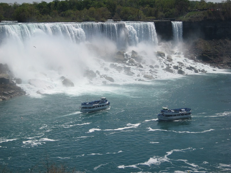 Ниагарский водопад (по-французски: les Chutes du Niagara)