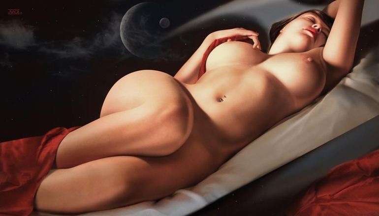 Земные богини американского художника Jeffа Wack