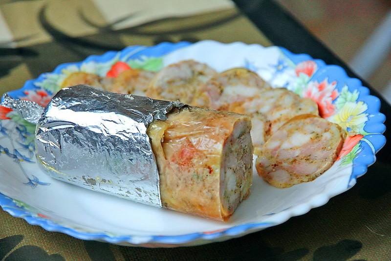 Ветчинная колбаса