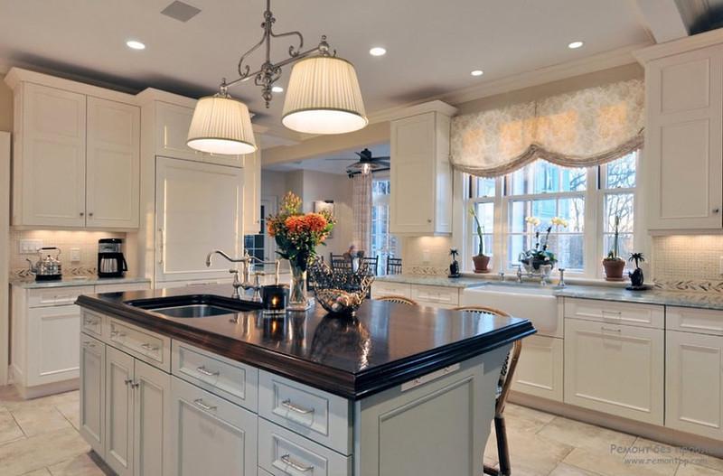Белая кухня и ее преимущества