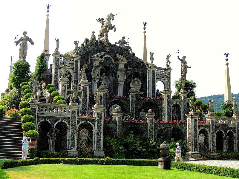 Красивейший Сад Любви. Остров Изола Белла.  Италия