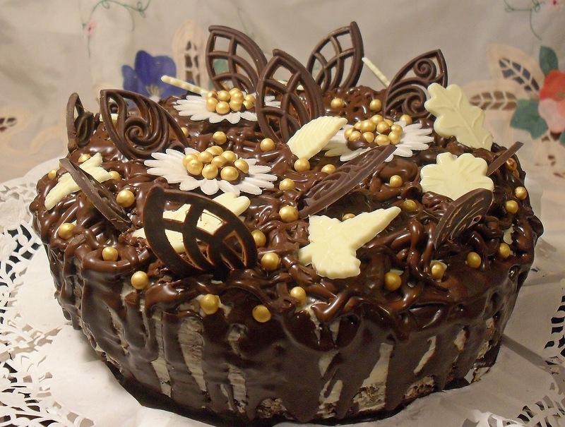 """Шоколадно-свекольный торт """"Изумление"""""""