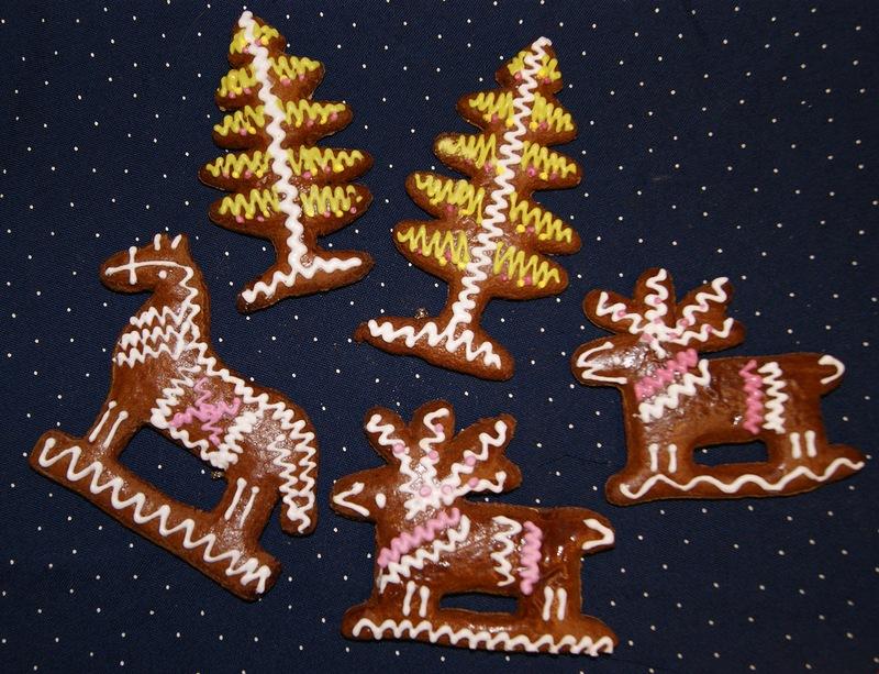 Архангельские козули. Новогодние пряники