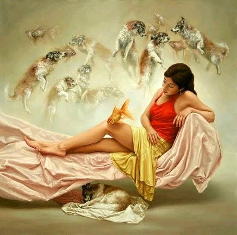 Перуанский художник. Johnny Palacios Hidalgo. Срок расцвета