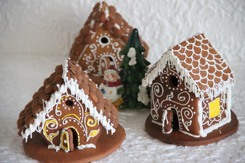 Пряники на меду на Рождество и Новый год