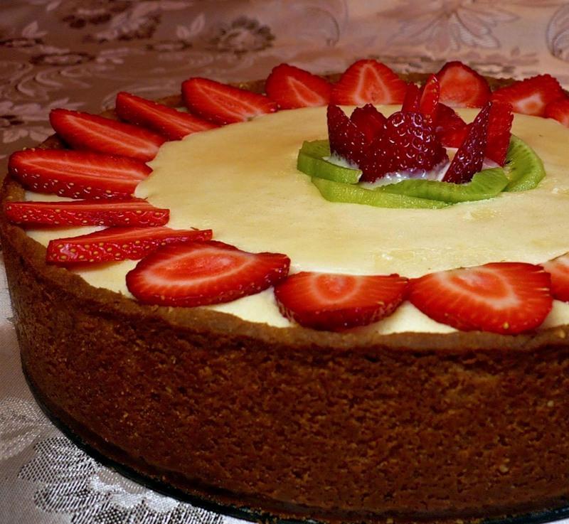 Клубничный тарт на 8 Марта
