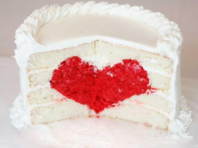 Торт Признание для влюбленных