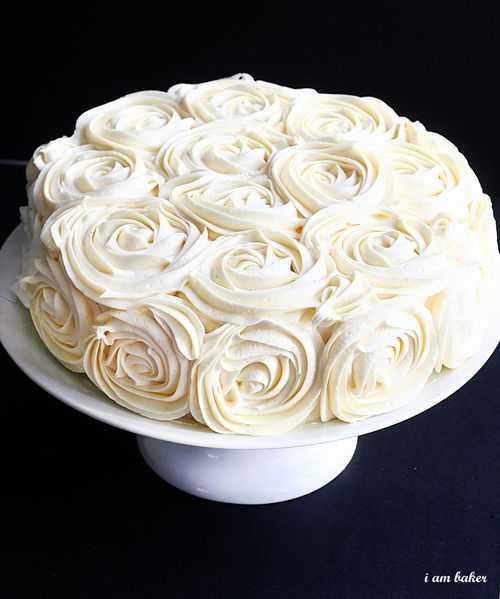 Торт РОЗ для влюбленных