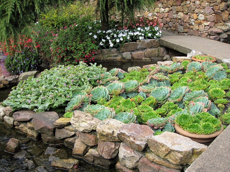 Ampie's Berg Garden - частный сад в Нидерландах