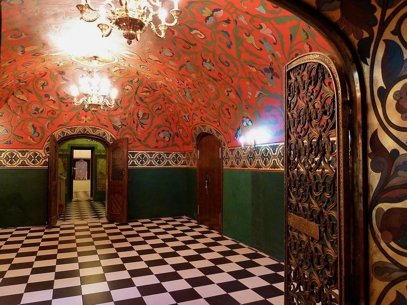 Интерьеры дворца Юсуповых. Красный зал