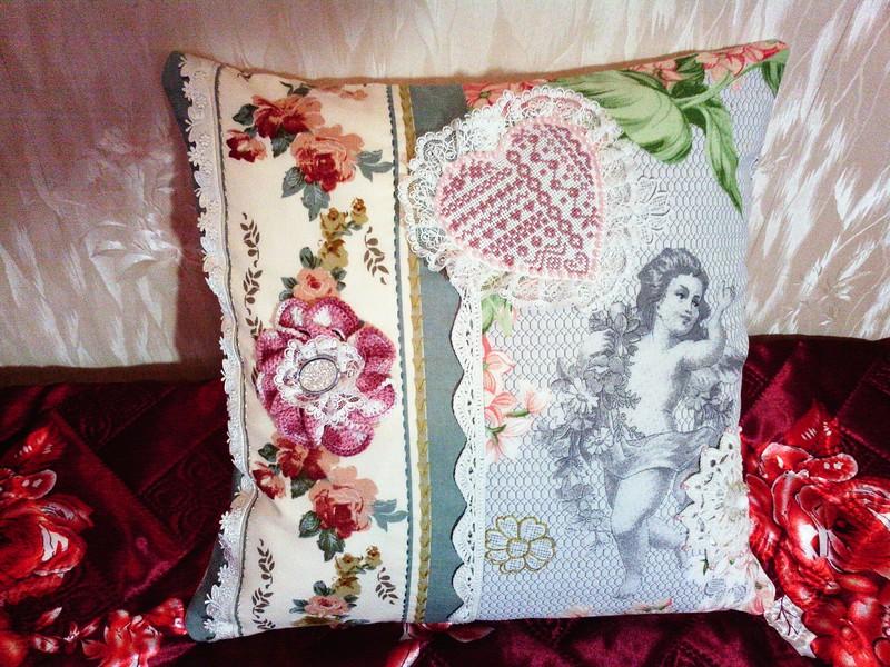 Красивые подушки-думочки. Идеи