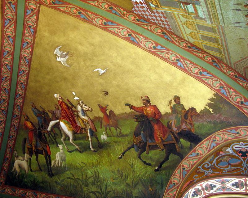 Палаты Волковых – Юсуповых. Охотничий зал