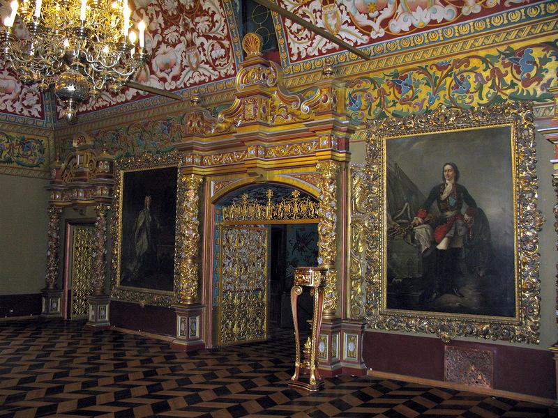 Тронный зал дворца Юсуповых