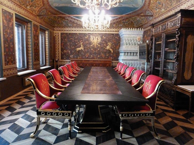 Палаты Волковых – Юсуповых. Кабинет князя