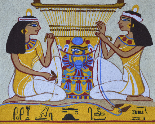 Ниткография. Гобелен Древнего Египта