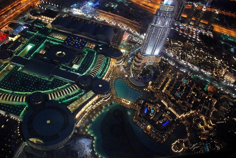 Поющие фонтаны в Дубае. Потрясающее зрелище!