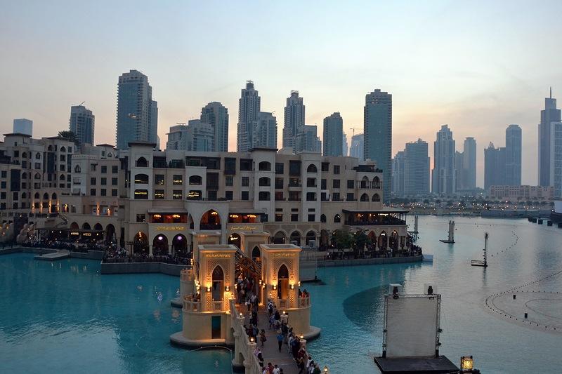 Поющие фонтаны в Дубае.