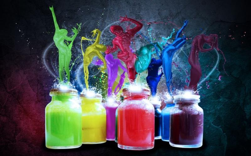 Роль цвета в оформлении сайтов