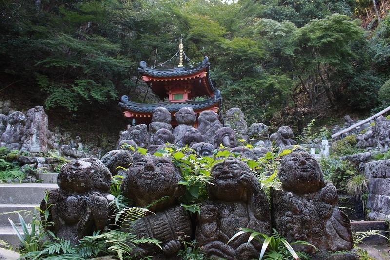 Буддистский храм Отаги Ненбутсутджи- Otagi Nenbutsu-Ji