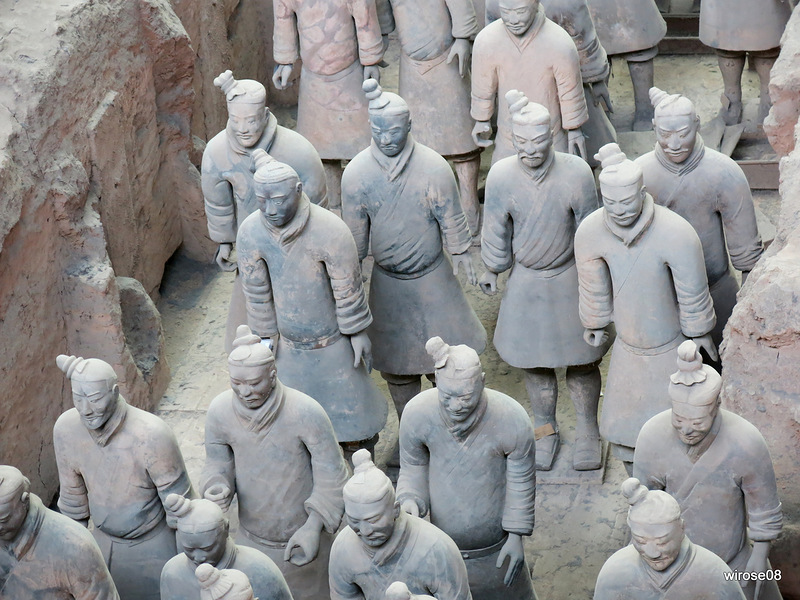 Терракотовая армия Цинь Шихуанди