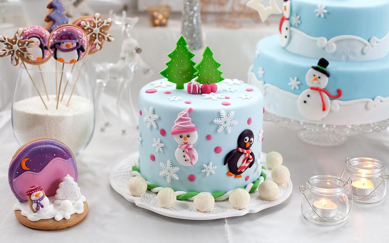 Новогодние торты 2017. Просто и вкусно