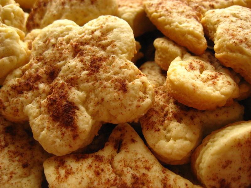 Домашнее песочное печенье! Простое, но такое вкусное!