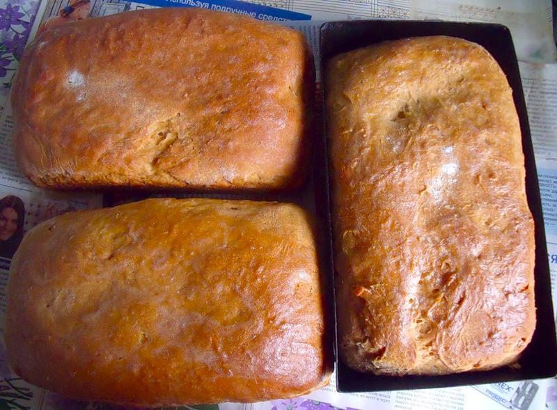 Домашний хлеб. Ароматный и полезный -20 лучших рецептов