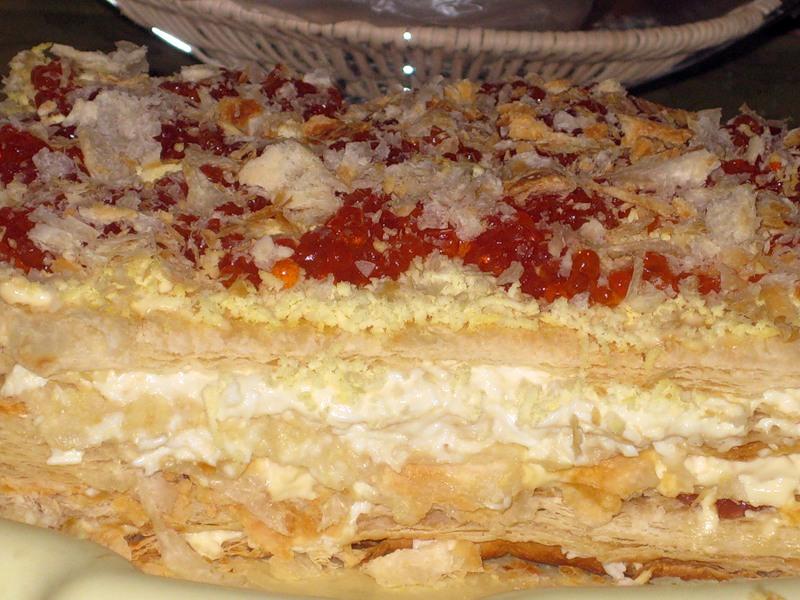 Торт Наполеон не для сластен