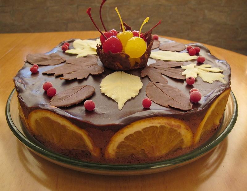 """Торт """"Осенние грезы"""""""