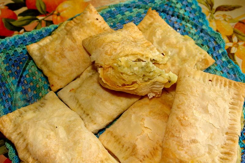 Турецкие пирожки с картошкой- Бурекас
