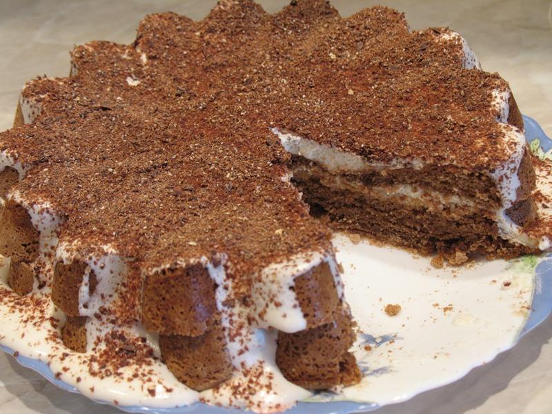 """Шоколадный торт """"Вдохновение"""""""