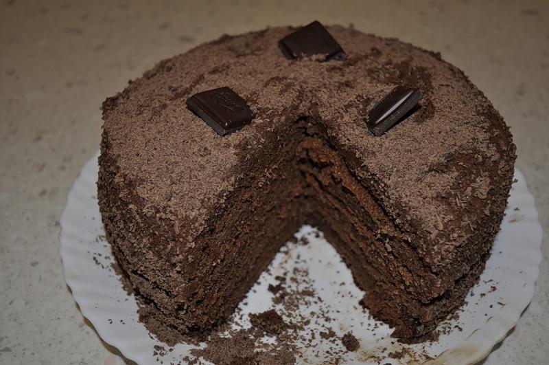 """Шоколадный торт """"Восторг"""""""