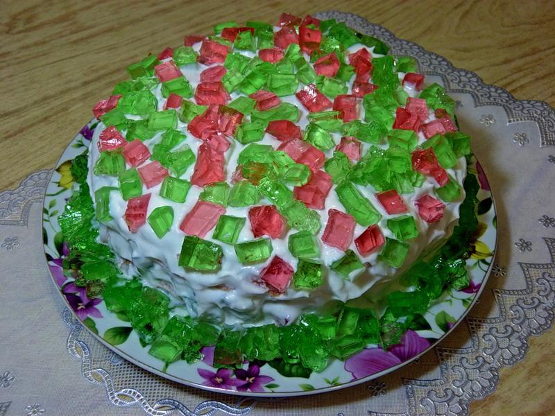 """Торт """"Весенние самоцветы"""""""