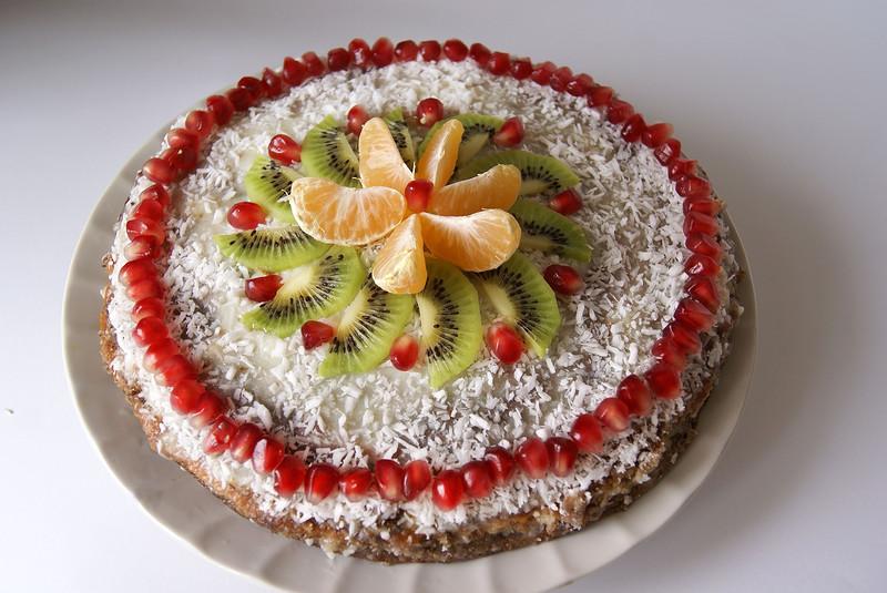 Тортик фруктовый