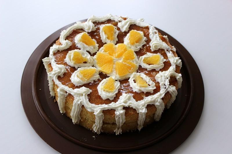 """Торт """"Солнечный апельсин"""""""
